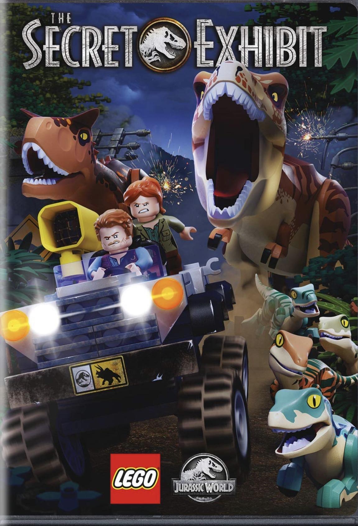 Resultado de imagen de Lego Jurassic World – The Secret Exhibit (2018)