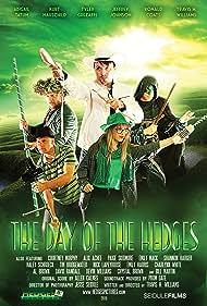 Tyler Grezaffi, Travis Hedges Williams, Kurt Hauschild, Jeffrey Johnson, and Abigail Tatum in The Day of the Hedges (2015)