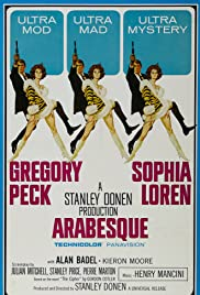 Arabesque (1966) Poster - Movie Forum, Cast, Reviews