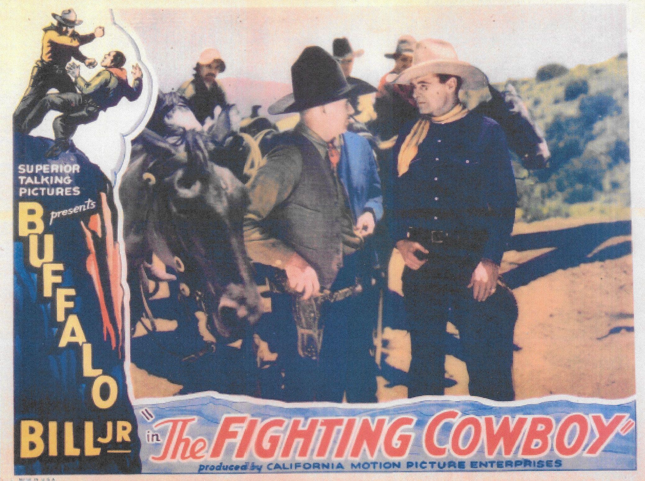 Ken Broeker and Jay Wilsey in The Fighting Cowboy (1933)