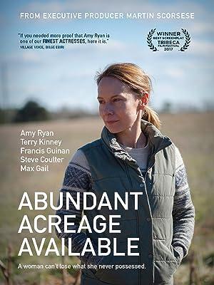 Abundant Acreage Available (2017)