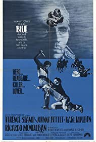 Terence Stamp in Blue (1968)