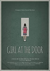 Girl at the door by none