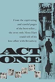 George Hamilton, Jack Klugman, Jason Robards, Sam Levene, and Eli Wallach in Act One (1963)