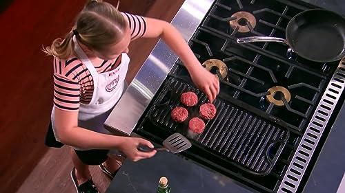 Masterchef Junior: Evie Tells Gordon About Her Burgers