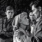 Boris Bityukov, Valentina Khmara, and Vyacheslav Tikhonov in Zhazhda (1959)