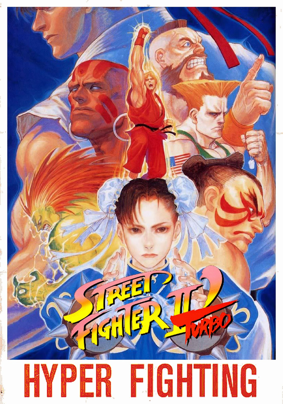 Street Fighter Ii Turbo Hyper Fighting Video Game 1992 Photo