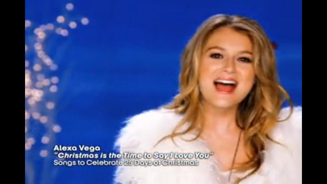 alexa vega christmas is the time to say i love you 2009 - Christmas Is The Time To Say I Love You