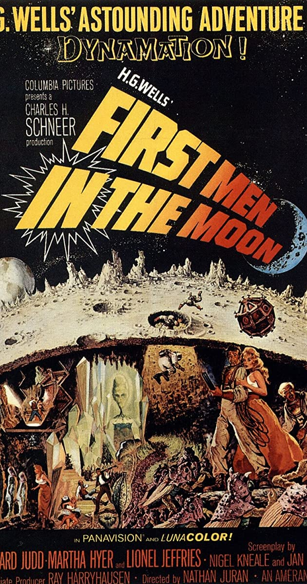 Subtitle of First Men in the Moon