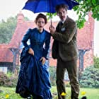 Benedict Cumberbatch and Claire Foy in The Electrical Life of Louis Wain (2021)