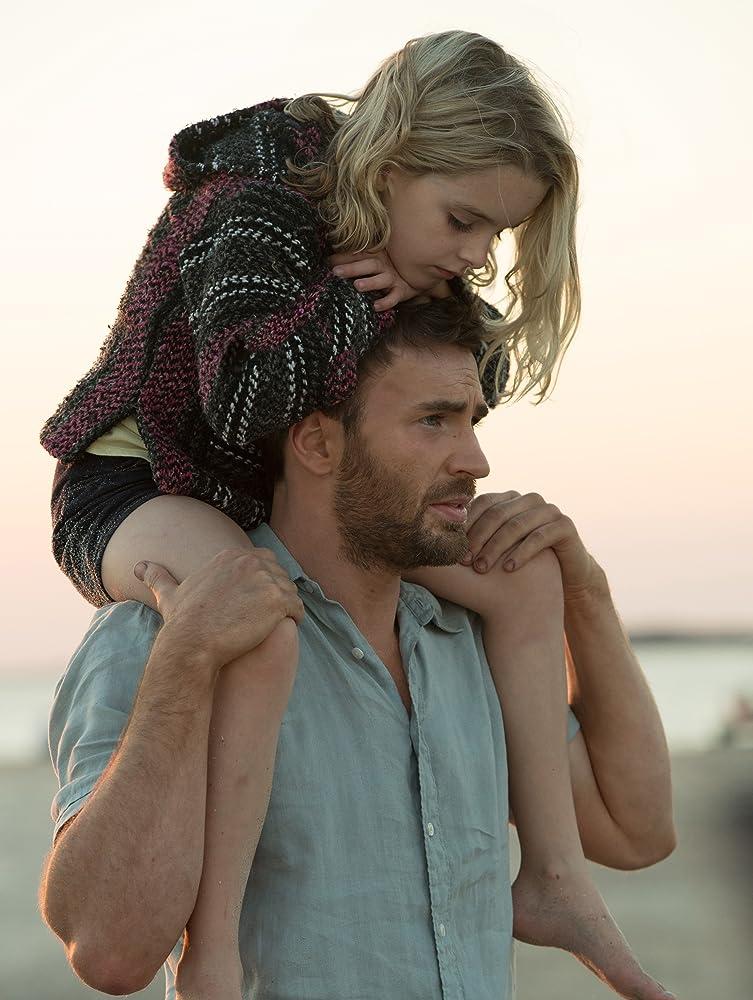 Mckenna Grace dan Chris Evans dalam film 'Gifted' (2017)