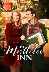 Alicia Witt and David Alpay in The Mistletoe Inn (2017)