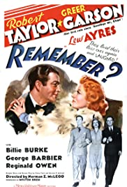 Remember? (1939) Poster - Movie Forum, Cast, Reviews