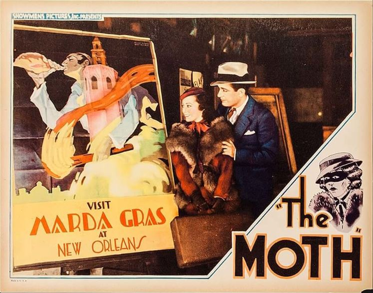 Sally O'Neil and Paul Page in The Moth (1934)