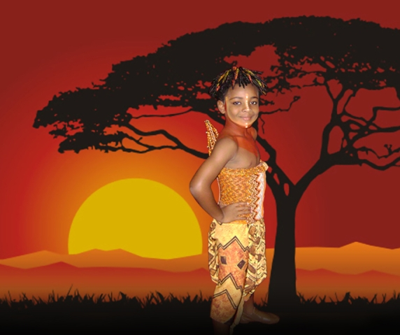 Dusan Brown stars as Young Simba, Disney's The Lion King - North American Tour