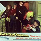Richard Dix, Lola Lane, and George Morrell in Buckskin Frontier (1943)