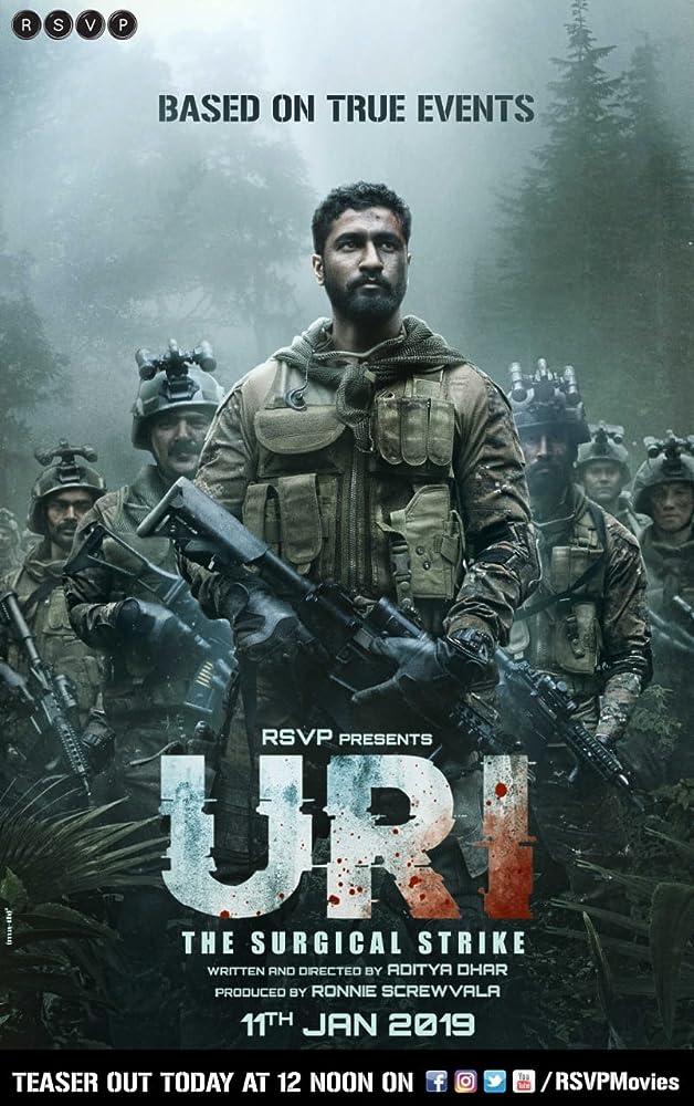 Uri The Surgical Strike 2019 Hindi 720p PreDvd x264 AAC