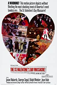 The St. Valentine's Day Massacre (1967) Poster - Movie Forum, Cast, Reviews