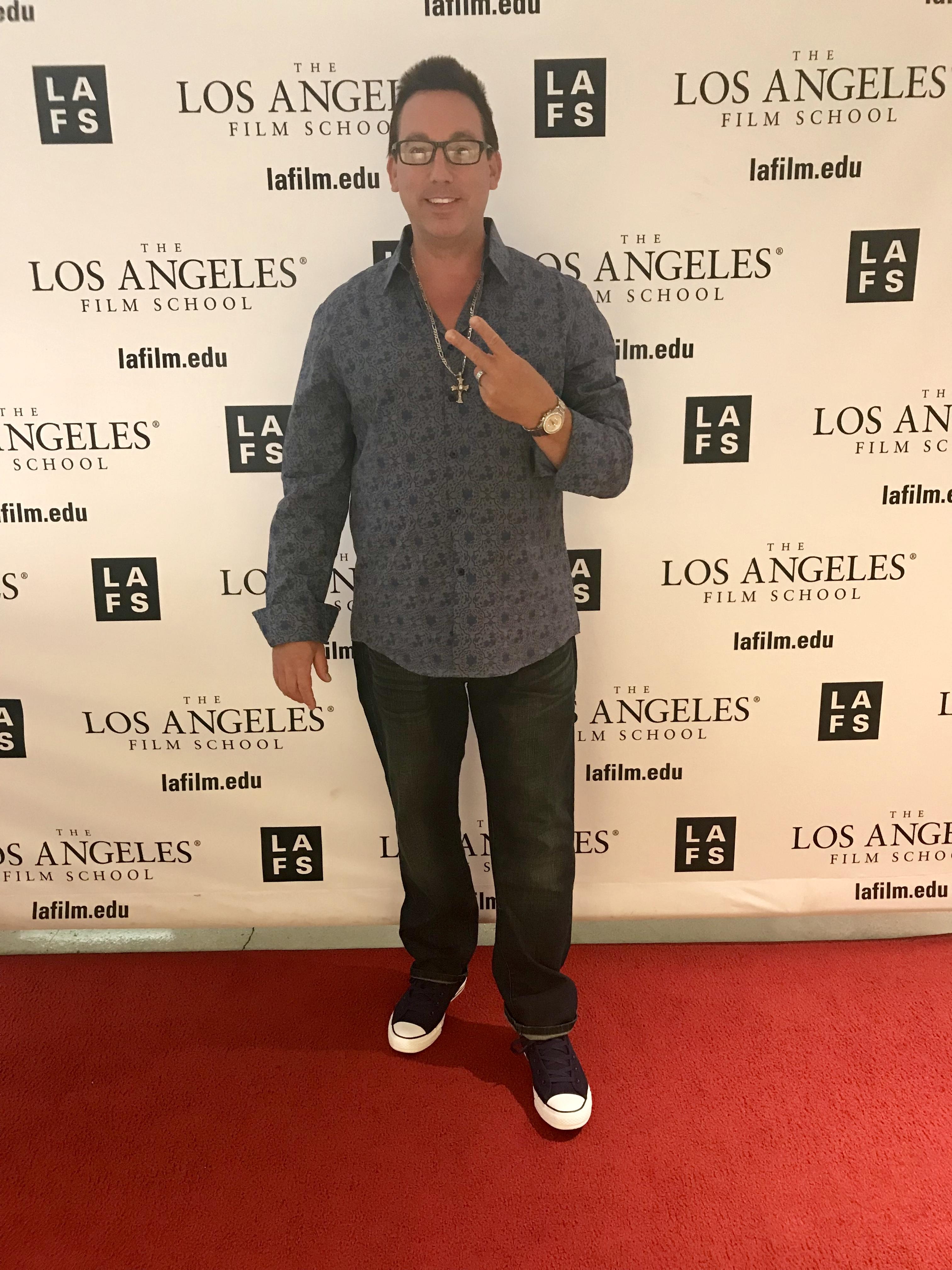 Mike Breyer at Los Angeles Film School for Enipheres.