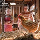 Wyatt McClure and Raegan Revord in A Live Chicken, a Fried Chicken and Holy Matrimony (2020)