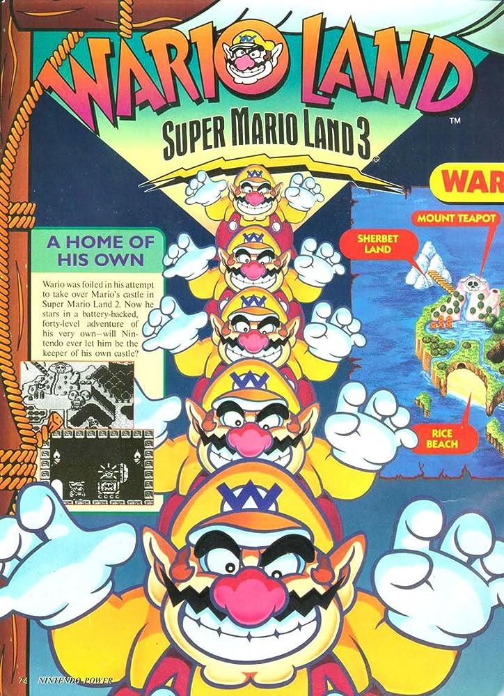wario land super mario land 3 1994