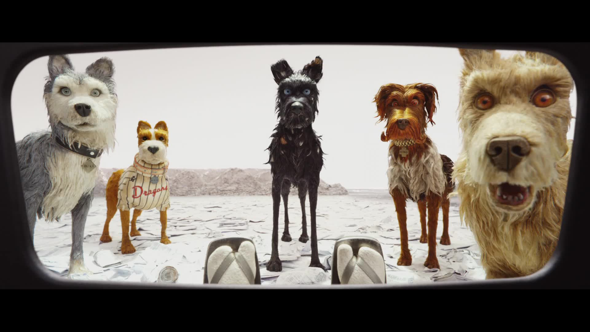 Official Trailer From Isle Of Dogs 2018