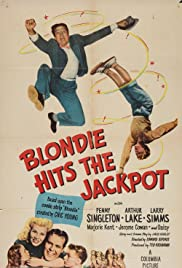 Blondie Hits the Jackpot Poster