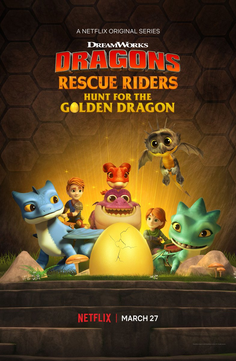 Dragons Rescue Riders Hunt For The Golden Dragon 2020 Imdb