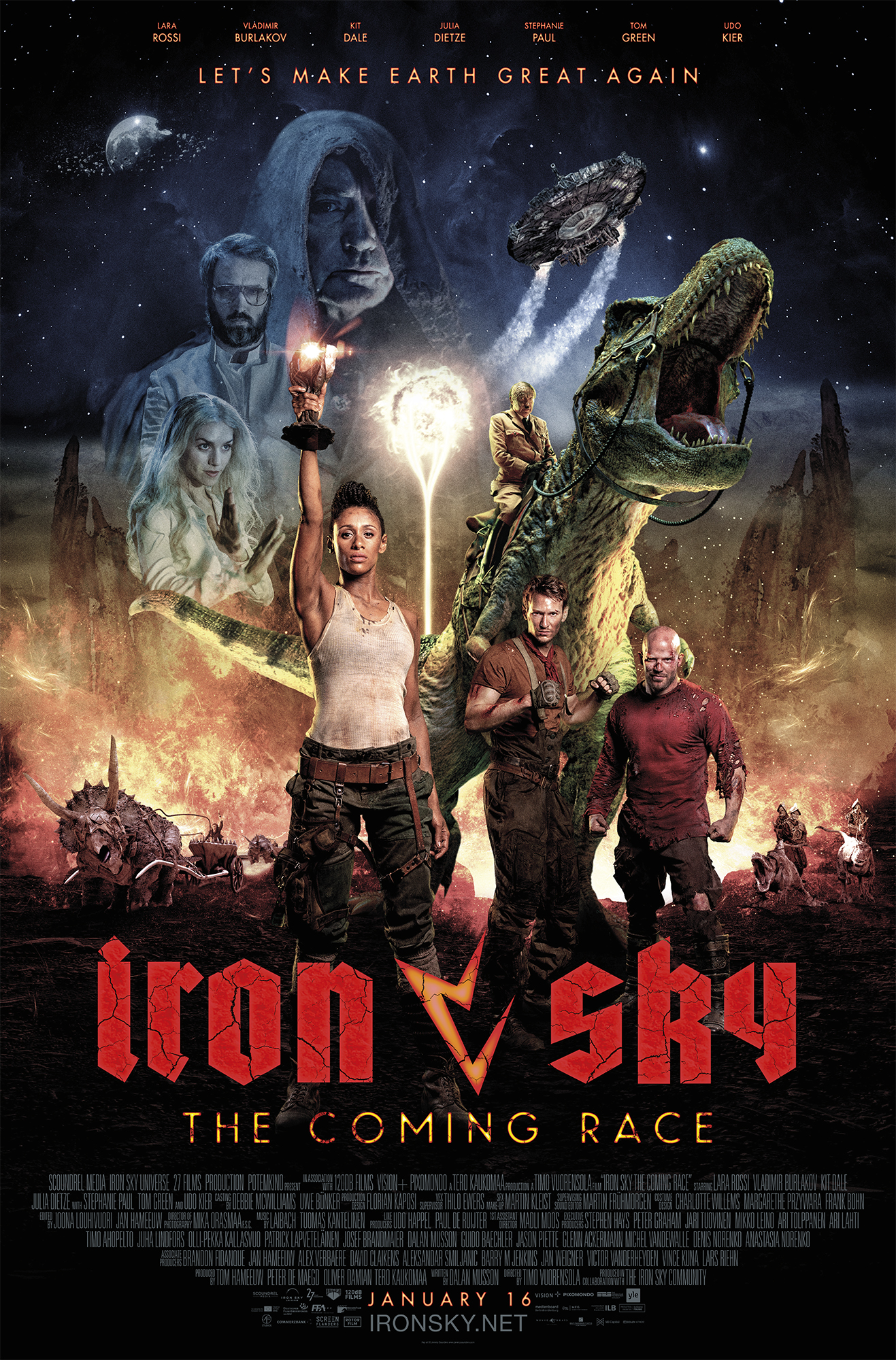 Iron Sky: The Coming Race (2019) WEBRip 720p & 1080p
