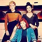 Denise Crosby, Gates McFadden, and Marina Sirtis in Star Trek: The Next Generation (1987)