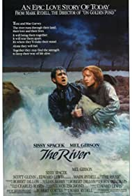 Mel Gibson and Sissy Spacek in The River (1984)