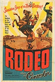 John Archer, Wallace Ford, Gary Gray, and Jane Nigh in Rodeo (1952)