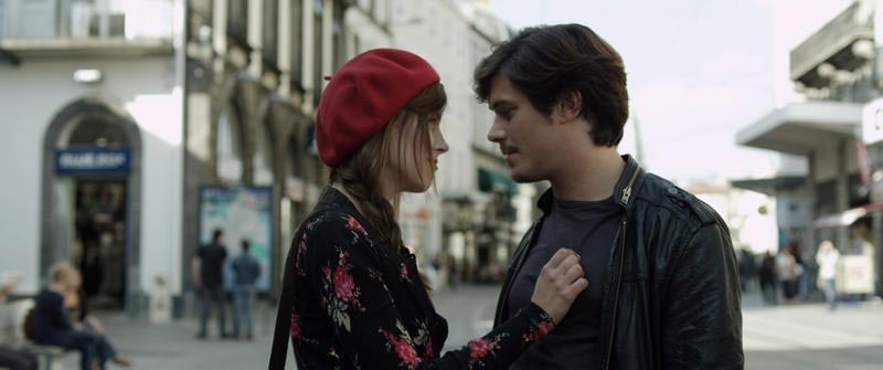 Nicolas Giraud and Clémentine Poidatz in Les robins des pauvres (2011)