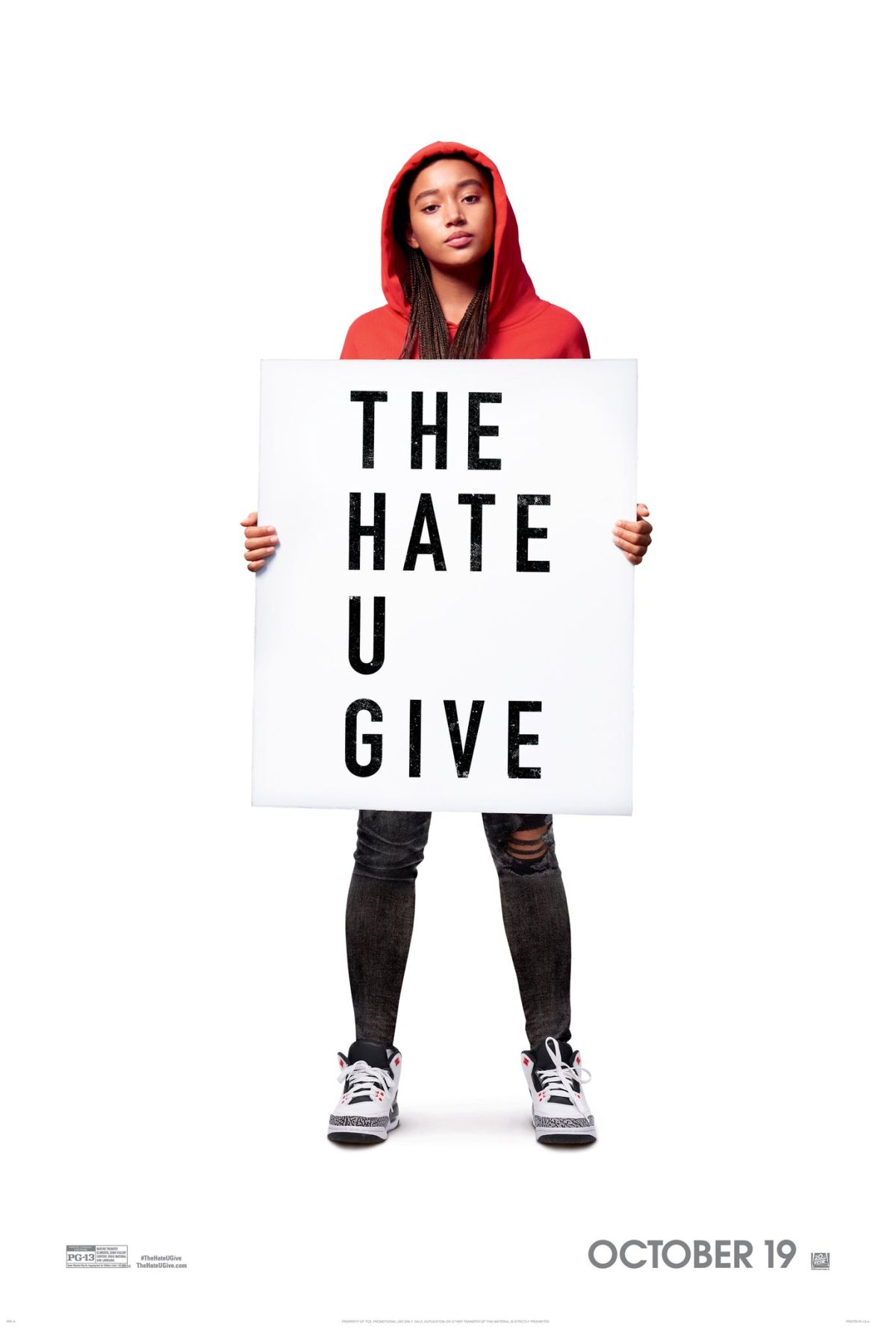 Image result for the hate u give movie poster