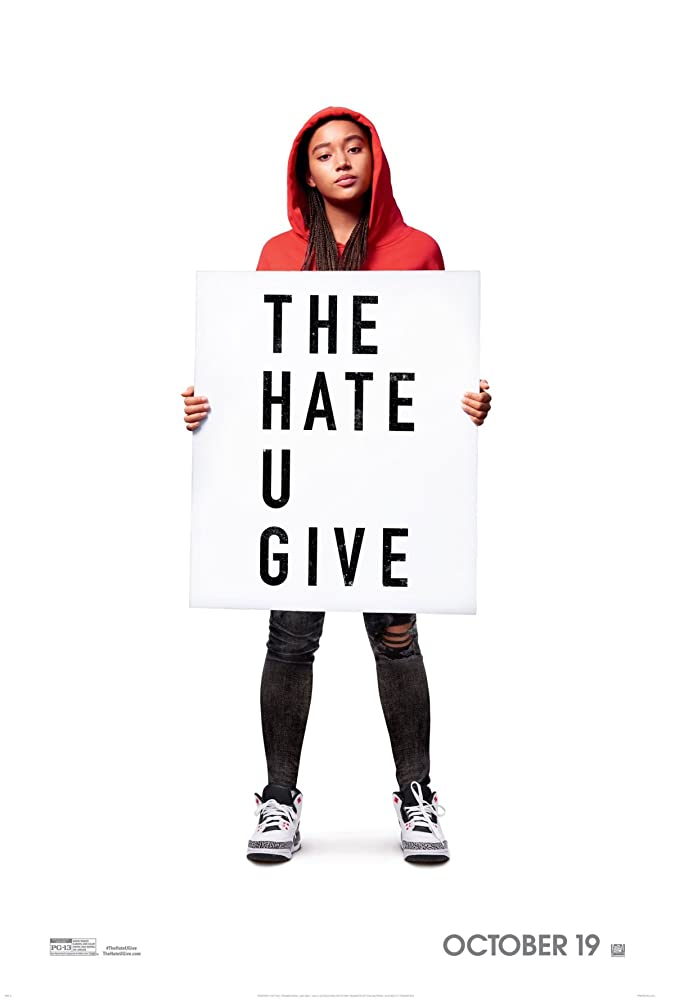 The Hate U Give movie poster thumbnail link to detail view
