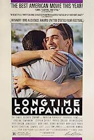 Dermot Mulroney and Campbell Scott in Longtime Companion (1989)