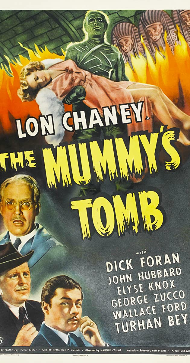Subtitle of The Mummy's Tomb