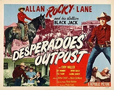 Movie preview download Desperadoes' Outpost none [x265]