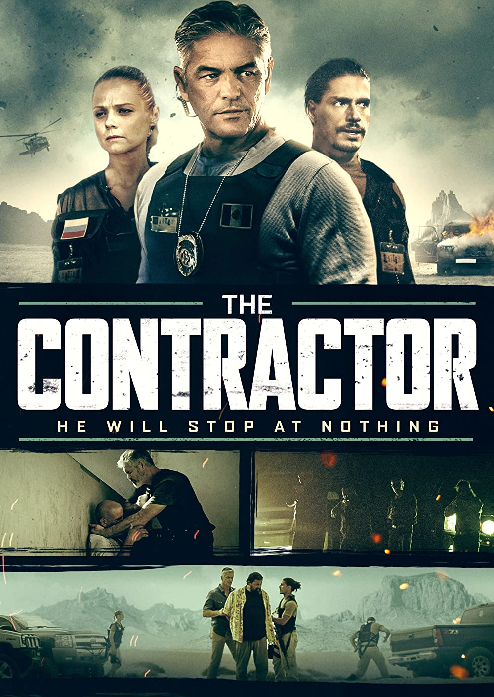 The Contractor (2018) Full Movie [In Spanish] With Hindi Subtitles   WebRip 720p [1XBET]