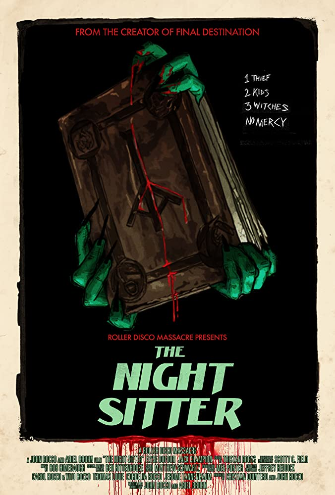 The Night Sitter (2018) English 300MB HDRip 480p x264