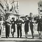 Trudi Ames, Joby Baker, Peter Brooks, Cindy Carol, Noreen Corcoran, James Darren, and Danielle De Metz in Gidget Goes to Rome (1963)