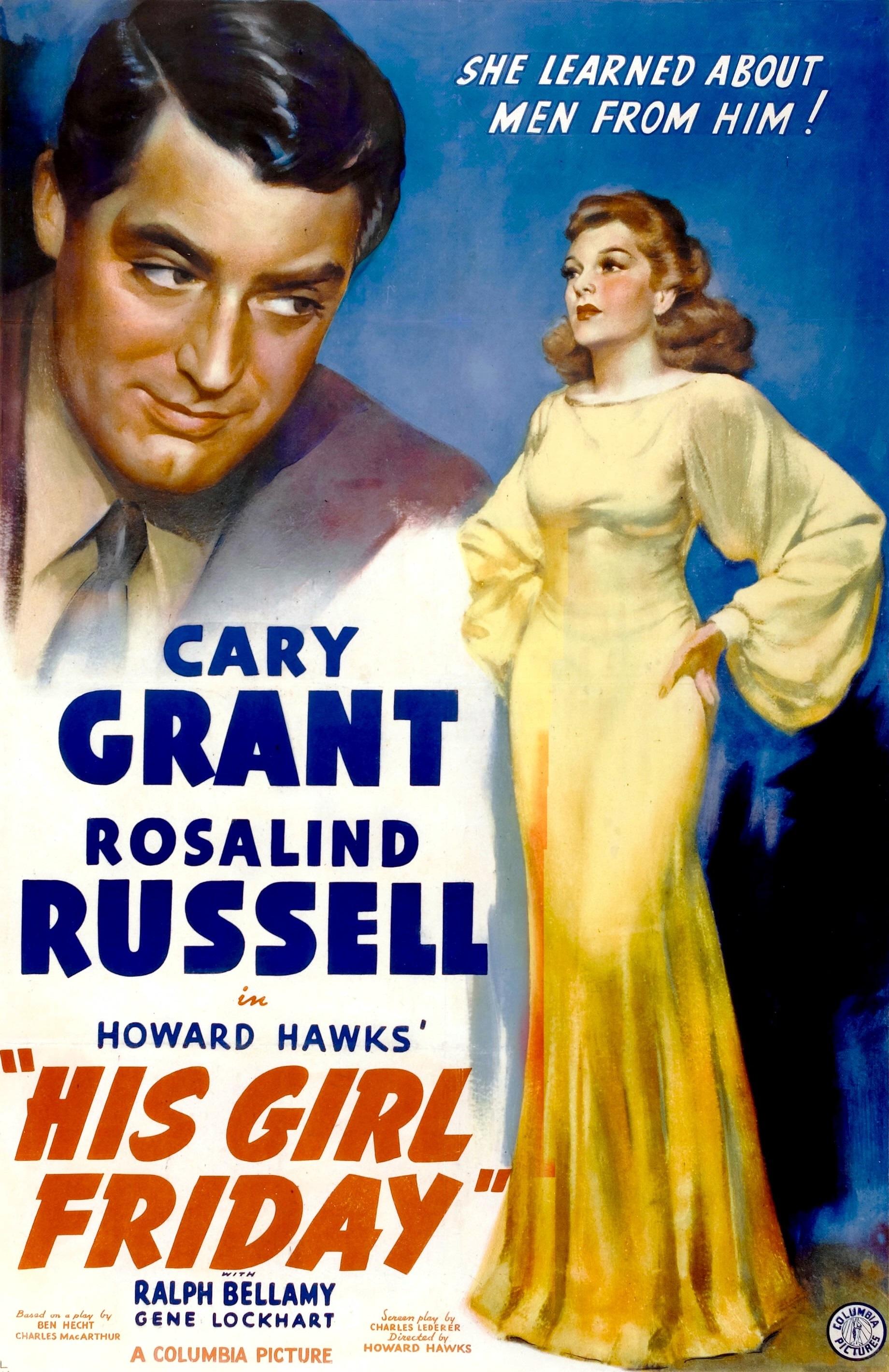 His Girl Friday (1940) - IMDb