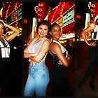 Tiffani Thiessen and Lark Voorhies in Saved by the Bell: Wedding in Las Vegas (1994)