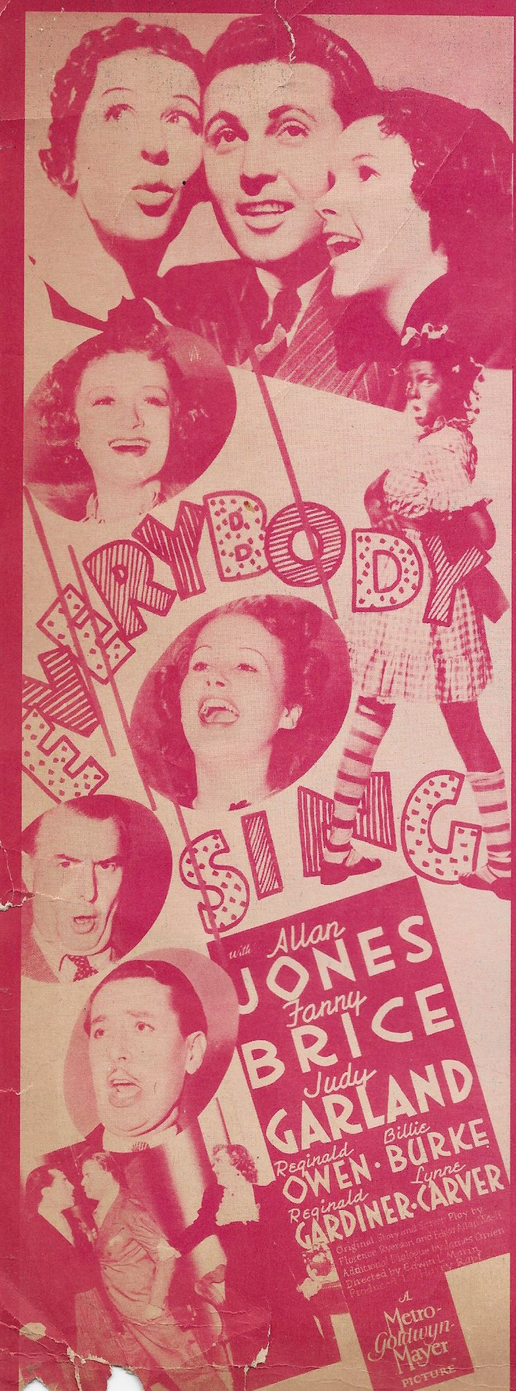 Judy Garland, Fanny Brice, and Allan Jones in Everybody Sing (1938)