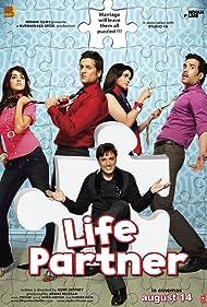 Fardeen Khan, Govinda, Tusshar Kapoor, Genelia D'Souza, and Prachi Desai in Life Partner (2009)