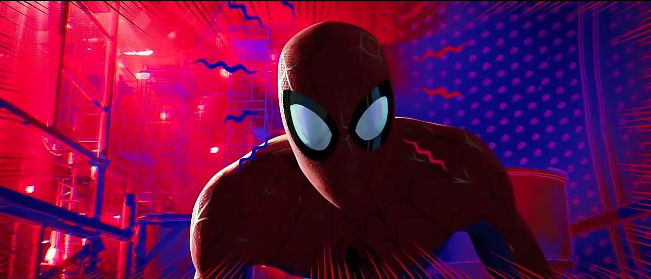 Chris Pine in Spider-Man: Into the Spider-Verse (2018)