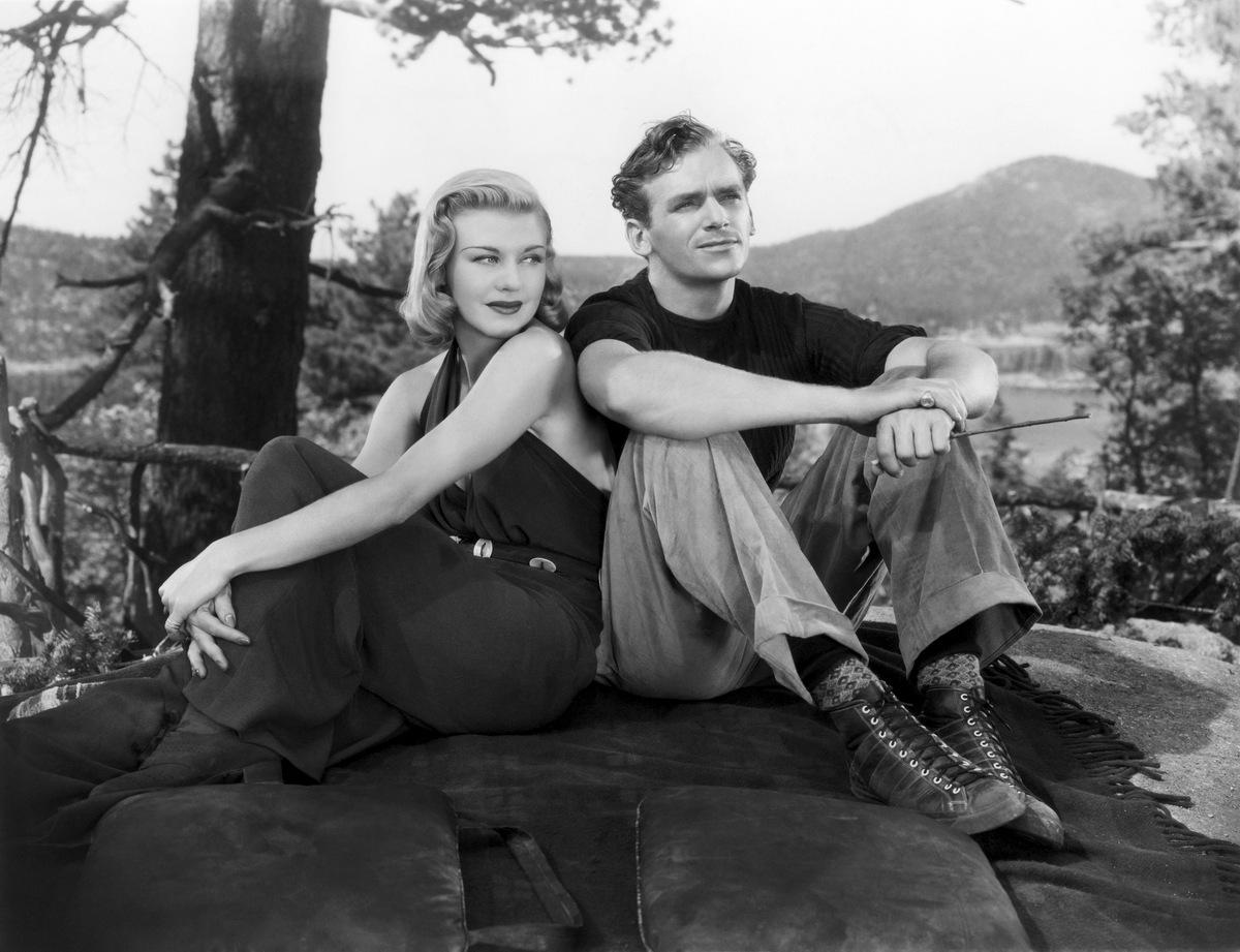 Douglas Fairbanks Jr. and Ginger Rogers in Having Wonderful Time (1938)