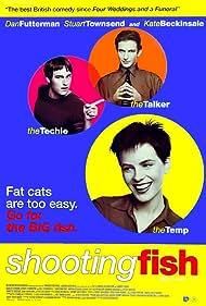 Kate Beckinsale, Dan Futterman, and Stuart Townsend in Shooting Fish (1997)