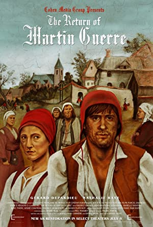 The Return of Martin Guerre poster