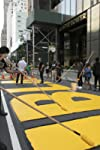 New York City Paints 'Black Lives Matter' Mural On Street In Front Of Trump Tower